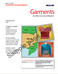 Cambodia Sourcing Report: Garments