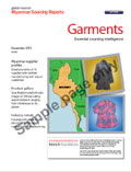Myanmar Sourcing Report: Garments