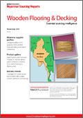 Myanmar Sourcing Report: Wooden Flooring & Decking