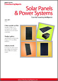 China Sourcing Report: Solar Panels & Power Systems