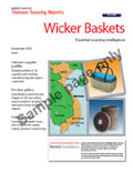 Vietnam Sourcing Report: Wicker Baskets